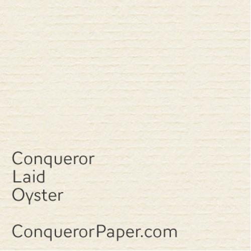 Obálky Conqueror Laid, Oyster, DL
